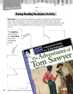 The Adventures of Tom Sawyer Vocabulary Activities (Great Works Series)