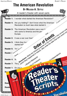 The American Revolution Reader's Theater Script and Lesson