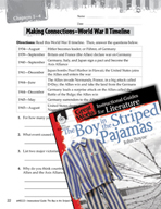 The Boy in the Striped Pajamas Making Cross-Curricular Connections (Great Works Series)