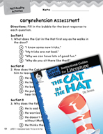 The Cat in the Hat Comprehension Assessment (Great Works Series)