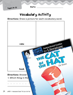 The Cat in the Hat Vocabulary Activities (Great Works Series)