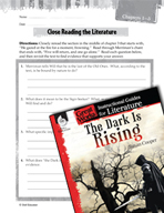 The Dark Is Rising Close Reading and Text-Dependent Questi
