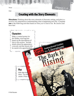 The Dark Is Rising Studying the Story Elements (Great Works Series)