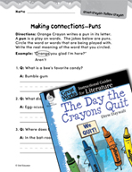 The Day the Crayons Quit Making Cross-Curricular Connections (Great Works Series)
