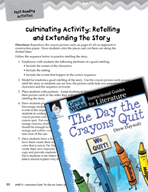 The Day the Crayons Quit Post-Reading Activities (Great Works Series)