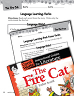 The Fire Cat Language Learning Activities (Great Works Series)