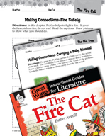 The Fire Cat Making Cross-Curricular Connections (Great Works Series)