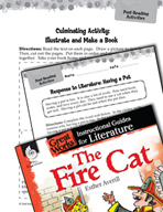 The Fire Cat Post-Reading Activities (Great Works Series)