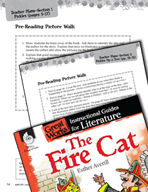 The Fire Cat Pre-Reading Activities (Great Works Series)