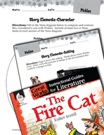 The Fire Cat Studying the Story Elements (Great Works Series)