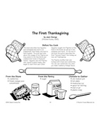 The First Thanksgiving - Cranberry Orange Sauce Recipe