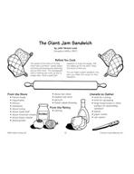 The Giant Jam Sandwich - Hero Sandwich Recipe