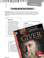 The Giver Studying the Story Elements (Great Works Series)