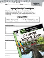 The Great Kapok Tree Language Learning Activities (Great Works Series)