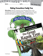 The Great Kapok Tree Making Cross-Curricular Connections (Great Works Series)