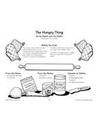 The Hungry Thing - Monster Carrot Creature Recipe