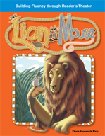 The Lion and the Mouse - Reader's Theater Script and Fluency Lesson
