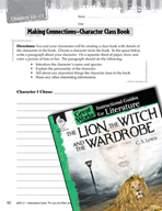 The Lion, the Witch and the Wardrobe Making Cross-Curricul