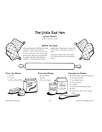 The Little Red Hen - Whole Wheat Bread Recipe