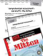 The Mitten Comprehension Assessment (Great Works Series)