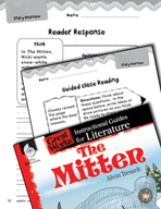 The Mitten Reader Response Writing Prompts (Great Works Series)