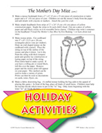 The Mother's Day Mice Literature Unit and Other Themed Activities