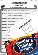 The Mountain Lion Reader's Theater Script and Lesson