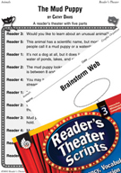 The Mud Puppy Reader's Theater Script and Lesson
