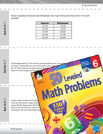 The Number System Leveled Problems: Adding, Subtracting, and Multiplying Money