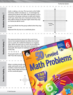 The Number System Leveled Problems: Coordinate Graphing