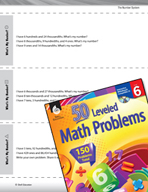 The Number System Leveled Problems: Identifying Decimal Values