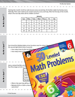 The Number System Leveled Problems: Least Common Multiples