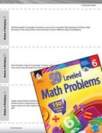 The Number System Leveled Problems: Methods of Multiplying