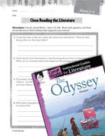 The Odyssey Close Reading and Text-Dependent Questions (Great Works Series)