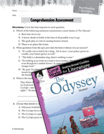 The Odyssey Comprehension Assessment (Great Works Series)