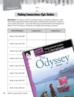 The Odyssey Making Cross-Curricular Connections (Great Works Series)