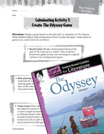 The Odyssey Post-Reading Activities (Great Works Series)