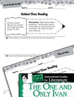The One and Only Ivan Close Reading and Text-Dependent Questions (Great Works Series)