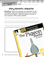 The Pigeon Books Studying the Story Elements (Great Works Series)