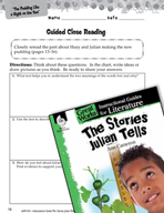The Stories Julian Tells Close Reading and Text-Dependent