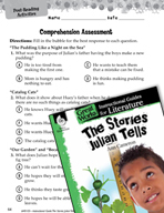 The Stories Julian Tells Comprehension Assessment (Great Works Series)