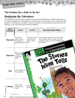 The Stories Julian Tells Leveled Comprehension Questions (Great Works Series)