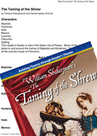 The Taming of the Shrew - Reader's Theater Script and Fluency Lesson