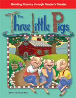 The Three Little Pigs - Reader's Theater Script and Fluency Lesson