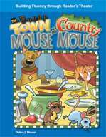 The Town Mouse and the Country Mouse - Reader's Theater Script and Fluency Lesson