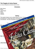 The Tragedy of Julius Caesar - Reader's Theater Script and