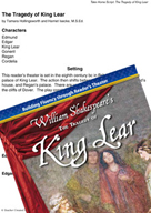 The Tragedy of King Lear - Reader's Theater Script and Fluency Lesson