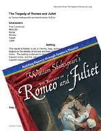 The Tragedy of Romeo and Juliet - Reader's Theater Script and Fluency Lesson