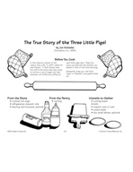 The True Story of the Three Little Pigs! - Pigs in a Blanket Recipe