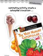 The Very Hungry Caterpillar Post-Reading Activities (Great Works Series)